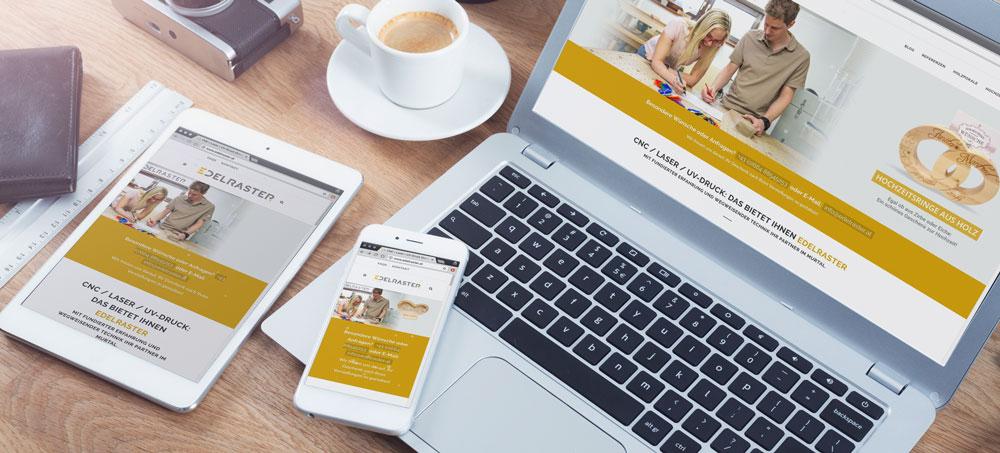 Edelraster Webdesign